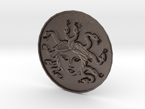 Brand.4 in Polished Bronzed Silver Steel