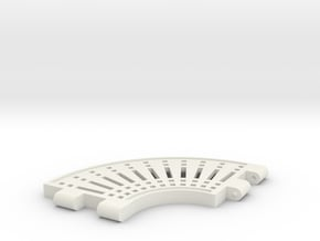 Transformers TR Curved Ramp in White Natural Versatile Plastic