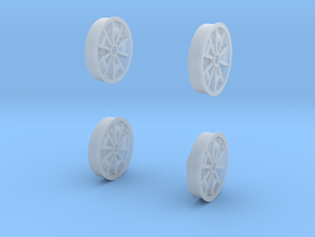 67 Turbine Wheel Faces 1-20 in Smooth Fine Detail Plastic
