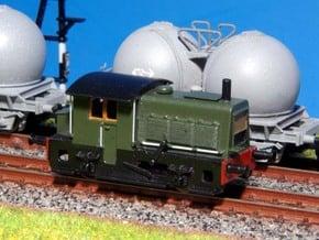 N SIK NS 200-300 locomotor (oudere versie) in Smoothest Fine Detail Plastic