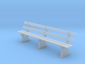 GWR Bench 4mm scale full in Smooth Fine Detail Plastic
