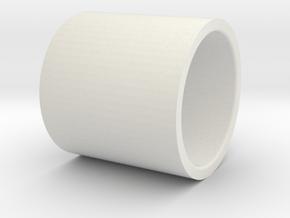 TM M870 valve spring spacer in White Natural Versatile Plastic