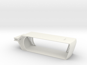 YUNEEC TYPHOON BATTERY TRAY H XT60 8000mah in White Natural Versatile Plastic