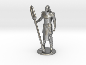 Jaffa Standing Guard -20 mm in Natural Silver