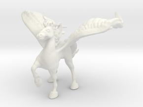 Protection Alicorn in White Natural Versatile Plastic