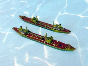 IJN 2 TL Type Standard Tanker 1/1250 in Smooth Fine Detail Plastic
