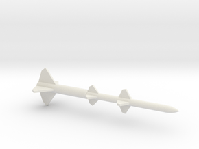 1/72 Scale Terrier BW Missile in White Natural Versatile Plastic
