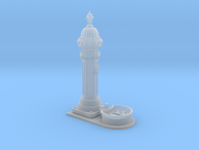 1:35th scale classic European drinking fountain in Smooth Fine Detail Plastic