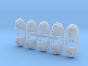 10x Deathwatch - Chapter Origin Set:27 in Smooth Fine Detail Plastic