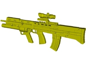 1/15 scale BAE Systems L-85A2 rifle x 1 in Smooth Fine Detail Plastic