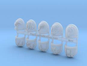 10x Deathwatch - Chapter Origin Set:28 in Smooth Fine Detail Plastic