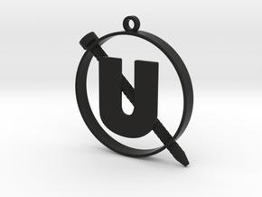 Holtzmann's Screw-U Half Size in Black Natural Versatile Plastic