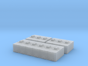 H0 1:87 Fischtransportbehälter 2200l in Smooth Fine Detail Plastic