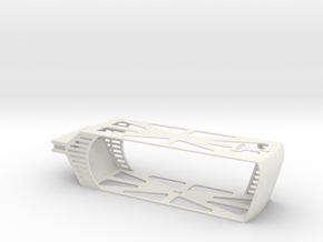 ECO YUNEEC TYPHOON BATTERY TRAY H XT60 8000mah in White Natural Versatile Plastic