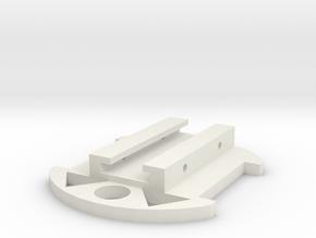 Nerf Tripod Rail Adapter in White Natural Versatile Plastic