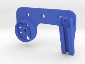 Dual Varia Fly6 Rear Rack Mount in Blue Processed Versatile Plastic