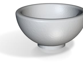 1:48 Bowl in Smooth Fine Detail Plastic