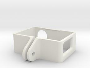 GoPro Frame Hero 4 Crea 3D in White Natural Versatile Plastic