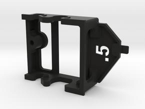Fly Motor Pod ~ .5mm offset in Black Natural Versatile Plastic