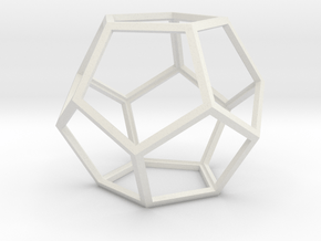 Dodeca12Light in White Natural Versatile Plastic