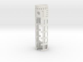 PDW-PRZ-01 - Padawan Prizm & 16650 battery V1 in White Natural Versatile Plastic
