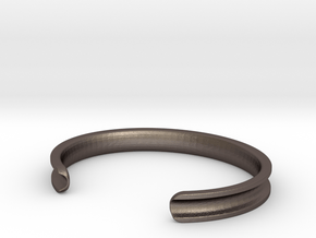 Pretty fly for a hair tie... in Polished Bronzed Silver Steel