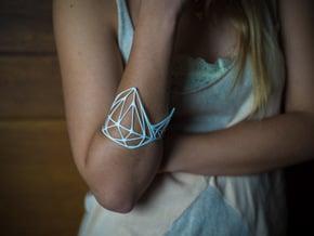 Diamond Arm Bandit (sz S/M) in White Processed Versatile Plastic