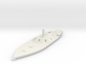 1/600 CSS Texas in White Natural Versatile Plastic