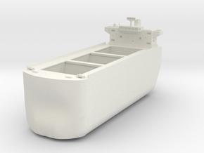 Bulk Ship Box in White Natural Versatile Plastic