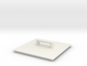Standard Cargo Box Cover in White Natural Versatile Plastic