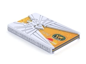 "Sliminal ""Goddess"" (8 Cards) in White Natural Versatile Plastic"