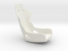 Recaro Seat 1/12 in White Natural Versatile Plastic