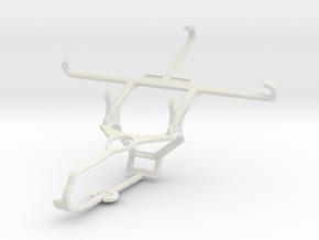 Controller mount for Steam & verykool SL5011 Spark in White Natural Versatile Plastic