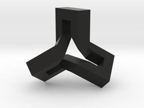 Ovonde Sculpture in Black Natural Versatile Plastic
