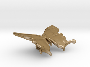 FLEURISSANT - Butterfly #3 in Polished Gold Steel