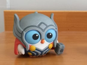 Owl of Thunder in Full Color Sandstone