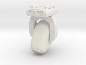 1:48 Angled VL3500 Moving Light 45° in White Natural Versatile Plastic