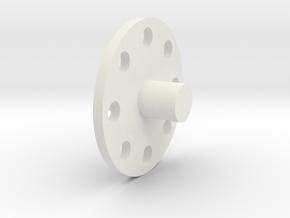 BM-H-HolyDisk in White Natural Versatile Plastic