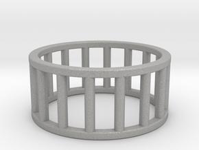 Albaro Ring- Size,9 in Aluminum