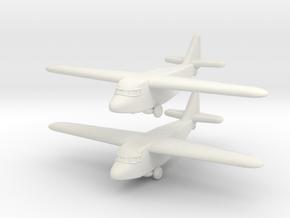 Kokusai Ku-8 (1/285) in White Natural Versatile Plastic