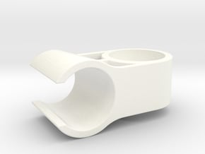 Dusar shower holder joint replacement in White Processed Versatile Plastic