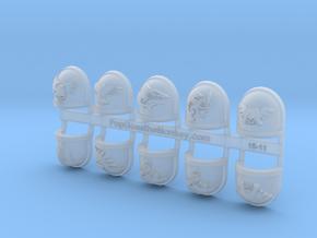 10x Deathwatch - Chapter Origin Set:29 in Smooth Fine Detail Plastic