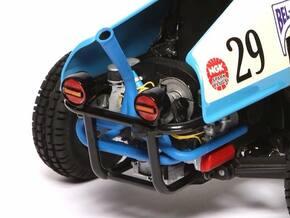 SR10009 SRB Engine - Vertical Race Exhaust in White Processed Versatile Plastic