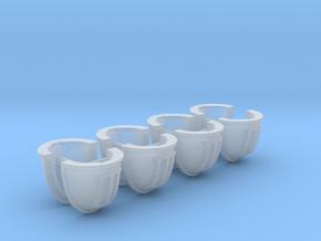 30KHHShoulderPadMKIVSPRUE8 in Smooth Fine Detail Plastic