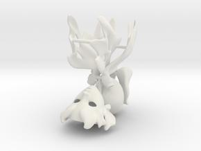 Light Fairy: BJD Parts Sprue in White Natural Versatile Plastic