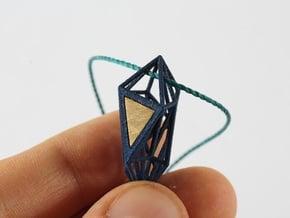 Cristal in Blue Processed Versatile Plastic