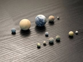 Tiny 12 object set in Full Color Sandstone
