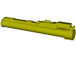 1/24 scale LAW M-72 anti-tank rocket launcher x 1 in Smooth Fine Detail Plastic