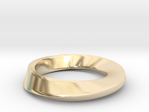Mobius in 14K Yellow Gold