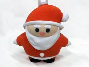 Santa S (7cm) in Full Color Sandstone